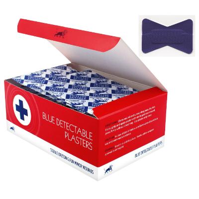 Blue Detectable Plasters - Fingertip (50)