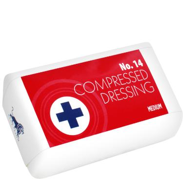 Compressed Wound Dressing No. 14 - Medium