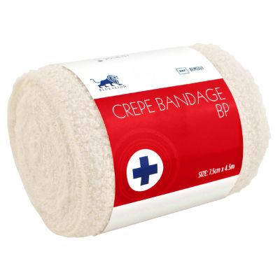 Crepe BP Bandage - 7.5cm x 4.5m