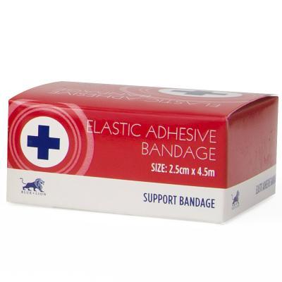 Elastic Adhesive Bandage - 2.5cm x 4.5m - Boxed