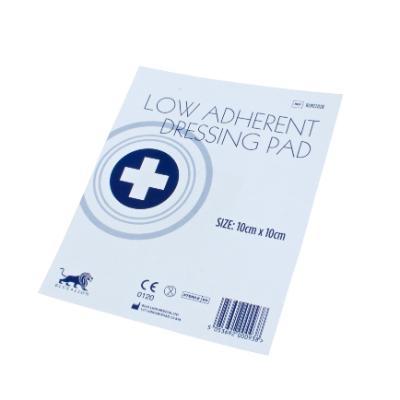 Low Adherent Dressing Pad - 10cm x 10cm (100)