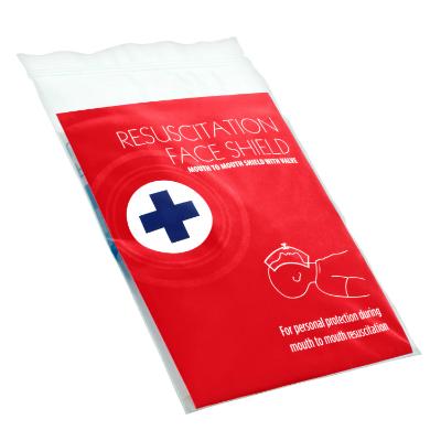 Resuscitation Aid with One-Way Valve