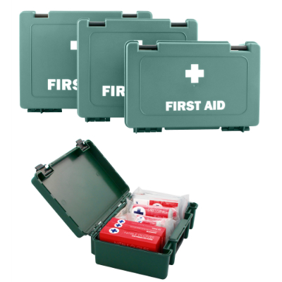 BS-8599-1 Compliant Small First Aid Kit in Standard Box