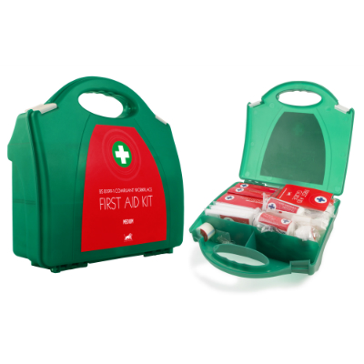 BS-8599-1 Compliant Medium First Aid Kit in Contemporary Box