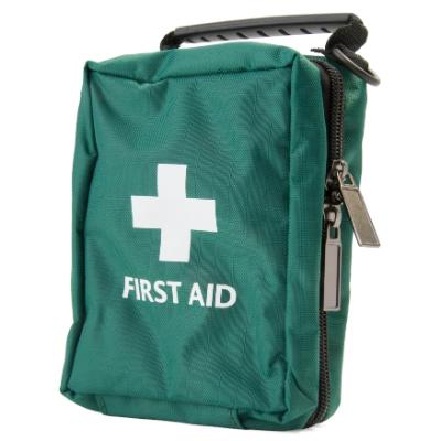 First Aid Bag - Green - Medium - 140mm x 100mm x 70mm