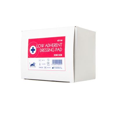 Low Adherent Dressing Pad - 5cm x 5cm (100)