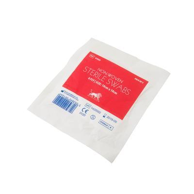 Sterile Non-Woven Swabs - 4ply - 10cm x 10cm (5)