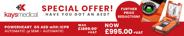 AED discount notice banner