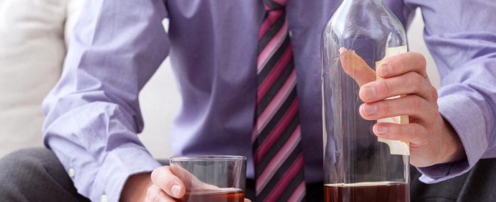 worker drinking