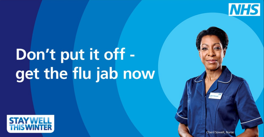 NHS flu campaign