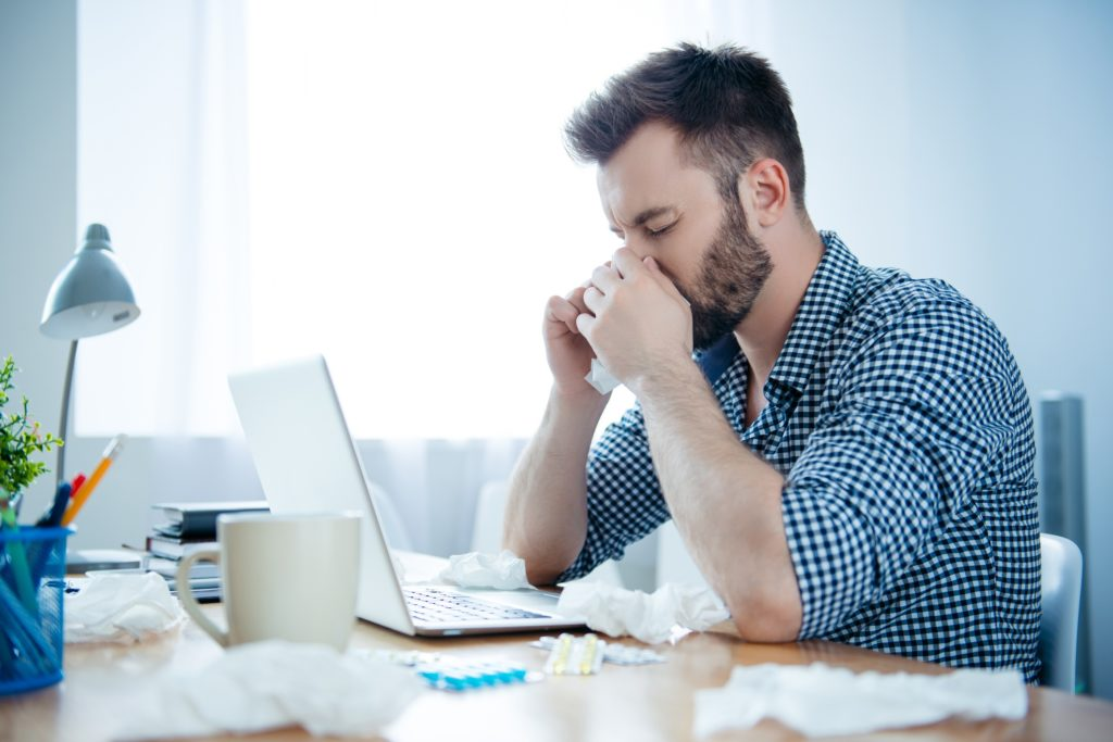 prevent flu in the workplace