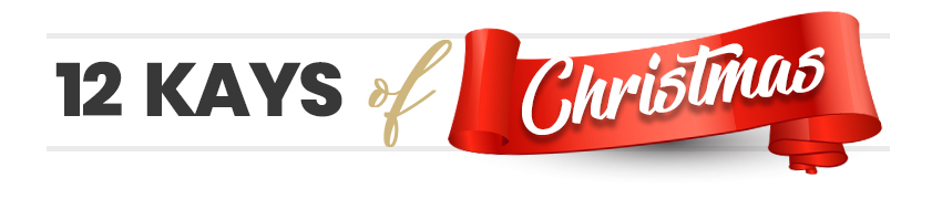 12 Days of Christmas title banner