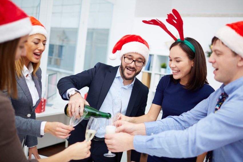 boost your employees at christmas
