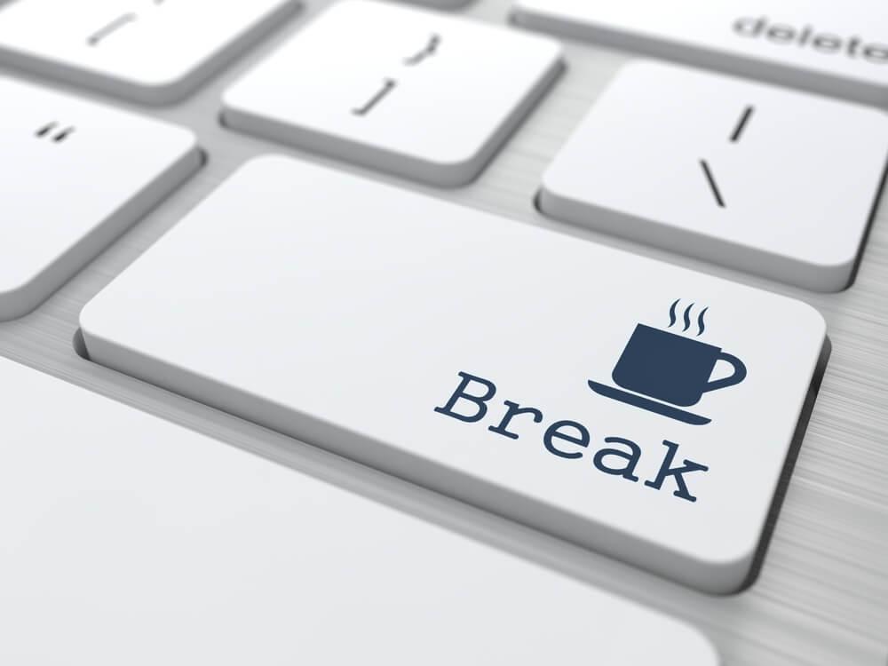 break from work