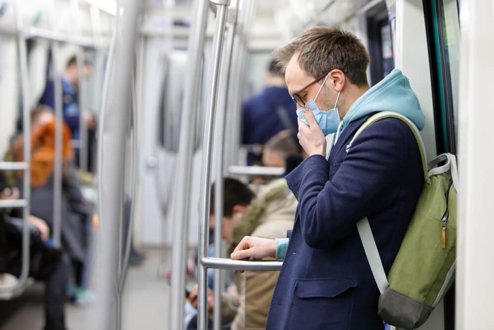 face mask public transport