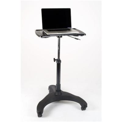 Height Adjustable Mobile Laptop Desk Cart ...