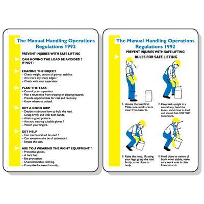 manual handling operations regulations pocket guide 120x80mm kays rh kaysmedical com manual handling operations regulations 1992 wiki manual handling operations regulations 1992 summary